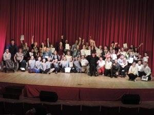 Участники Школы инклюзивного танца